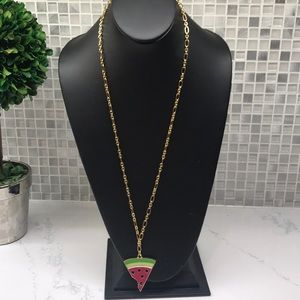 Kate Spade NEW Watermelon Statement Necklace